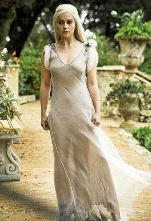 Daenerys Targaryen robe. 1 saison Game of Thrones.