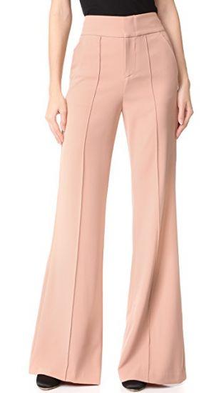 alice + olivia Dawn High Waisted Pants | SHOPBOP