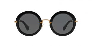 Miu Miu 13NS Round Sunglasses, 49mm