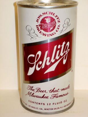 "SCHLITZ ""GLOBE VARIATION #3""  TEST CAN  S/S Beer Can M955    eBay"