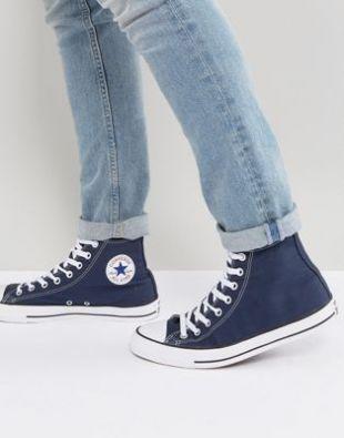 Alex Wilder's (Rhenzy Feliz) Blues Converse All Star Chuck