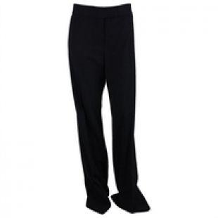 Stella McCartney Womens Pinstripe Jasmine Trouser Pants