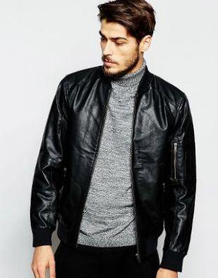 Produkt - Blouson aviateur imitation cuir
