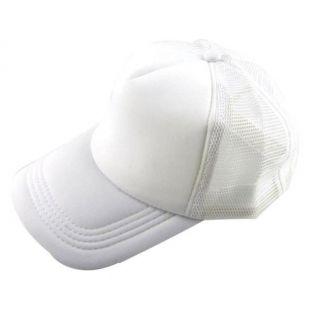 Caps 2017 Unisex Casual Hat Solid Baseball Cap Trucker Mesh Blank Visor Hat Adju   eBay