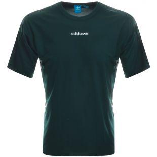 Adidas Originals TNT Tape T Shirt Green