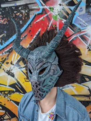 KILLMONGER mask from BLACK PANTHER movie