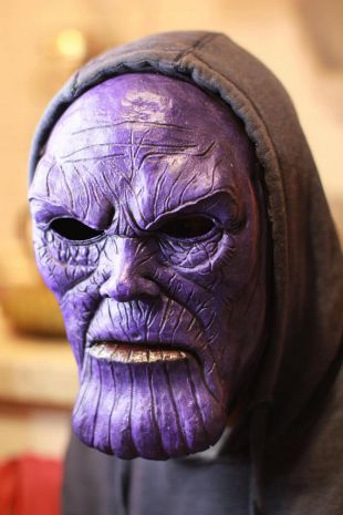 Thanos mask marvel comics avengers infinity war