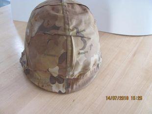 Vietnam War Double Camouflage Helmet and liner