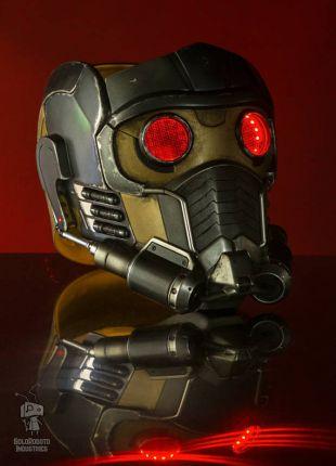Gardiens de la galaxie Star Lord casque masque Cosplay / Costume Prop (portable entièrement fini)