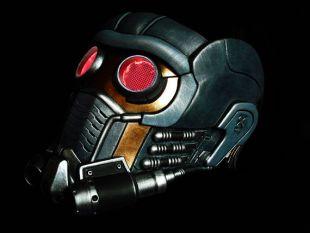 Gardiens de la galaxie Star Lord masque casque avec lueur lunettes Custom peint Prop réplique