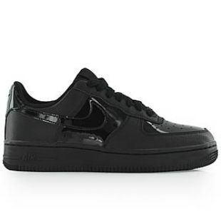 Nike Air Force 1 '07 W Vernis noire Patent Chaussures