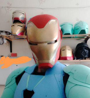 Iron Man Mark 48/50 Infinity War Wearable helmet cosplay replica