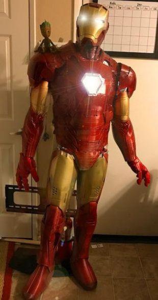 Iron Man armure portable costume