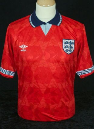 Angleterre 1990-1992 away football shirt taille XL / 10063
