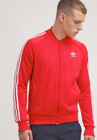 Track jacket Adidas Originals red of Grandmaster Flash