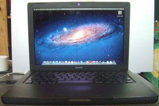 Noir MacBook A1181 2.2Ghz Intel Core 2 Duo 2.5G ram 160G hd 10.7.5 dvdrw