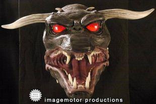 Grandeur Ghostbusters terreur chien   Keymaster version avec de la lumière les yeux
