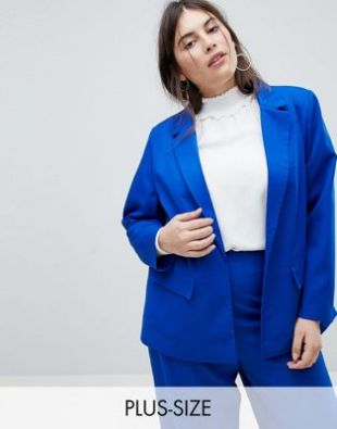 Fashion Union Plus   Blazer ajusté d'ensemble at asos.com