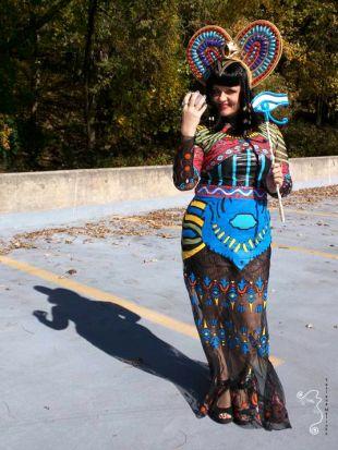 Katy Perry Dark Horse inspiré cosplay costume complet avec accessoires, costume Reine d'Egypte