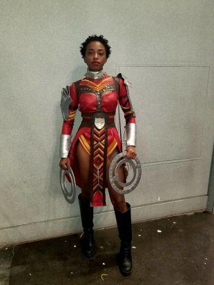Nakia's Dora Milage Costume - Black Panther