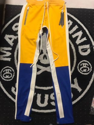 Fear Of God X Complexcon Exclusive Motocross Track Pant Yellow/Blue