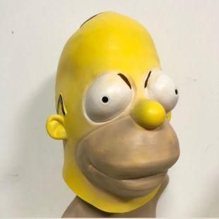 Simpson Masques Halloween Adulte Latex Masque Dessins Animés Personnages Cosplay Props Parti Fantaisie Robe dans Accessoires de costume pour hommes de Nouveauté & Usage Spécial sur AliExpress.com | Alibaba Group