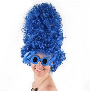 Marge Simpson Haute Bleu Boucles Perruque pour Halloween Costume Party Supplies dans Partie BRICOLAGE Décorations de Maison & Jardin sur AliExpress.com | Alibaba Group