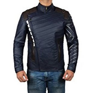 Infinity War Winter Soldier Bucky Jacket