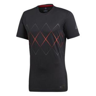 Adidas Performance Barricade t shirt worn by Sacha