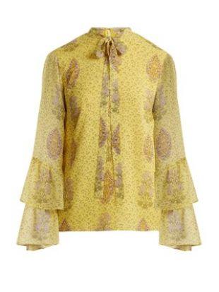 blouse en soie