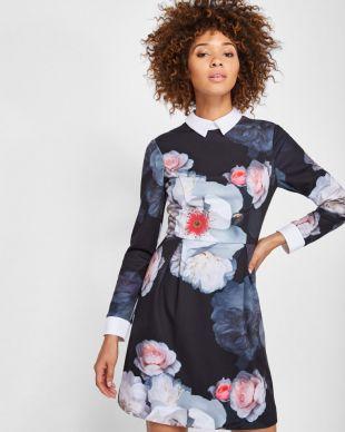 Chelsea Flower collar dress