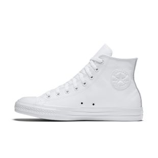 The Converse Chuck Taylor All Star Leather High Top Unisex Shoe.