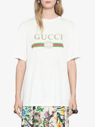 Gucci T shirt Logo