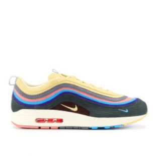 "Air Max 1/97 VF SW ""Sean Wotherspoon"" - Nike - AJ4219 400 2017 - lt blue fury/lemon wash 