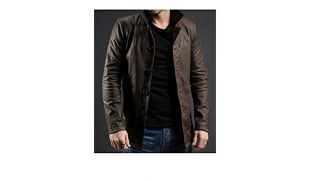 Supernatural Dean Winchester TV Series Brown Distressed Leather Jacket