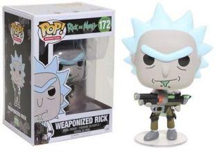 Rick and Morty   Pop!   Weaponized Rick    Funko | eBay