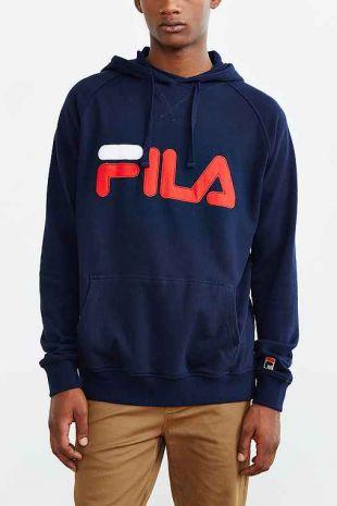 The sweat shirt Fila blue Dr. Dre (Corey Hawkins) in