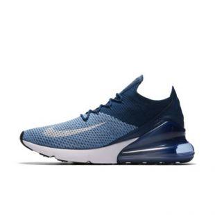 meilleur pas cher c8182 6d991 Sneakers blue Nike Air Max 270 Flyknit worn by Kylian Mbappé ...