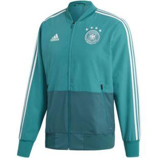 Adidas - Veste de présentation Allemagne Turquoise / Vert / Blanc