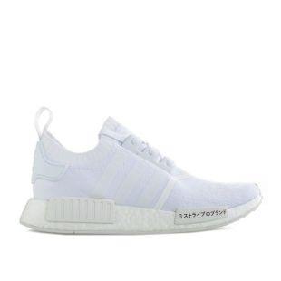adidas nmd r1 primeknit blanche