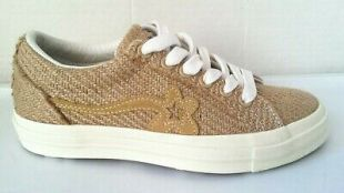 Sneakers Beige Converse X Golf The Flower Of Tyler The Creator With A Lizard On Instagram Spotern