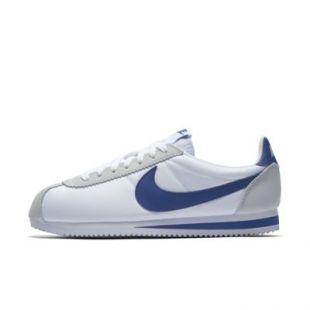 best cheap latest design cheapest Les chaussures nike cortez bleu et blanc de KJ Apa sur son compte ...