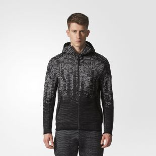 The Adidas jacket Z. N. E. Pulse Knit of Gabriel Jesus on