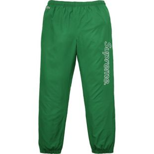 Supreme Lacoste Track Pant Kelly Green
