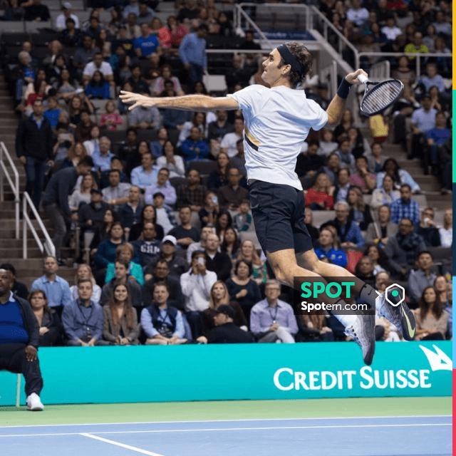 Aplicable esta Dar derechos  Shoes Nike Court Vapor RF Air Max 95 Neon of Roger Federer on his account  Instagram | Spotern