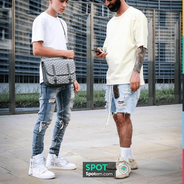 Sneakers beige Adidas Yeezy 500 Super