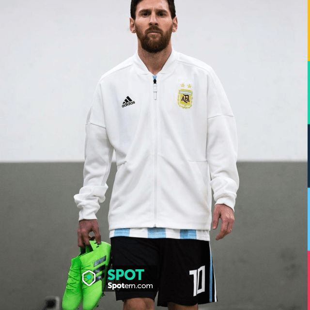 sottomarino Mucca Centro  Cleats green Adidas Nemeziz green Lionel Messi on his account Instagram |  Spotern