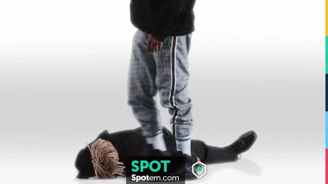 Nike Air Force 1 black sneakers worn by XXXTentacion as seen in ...