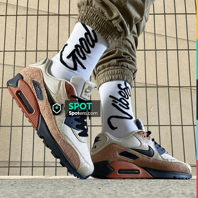 The pair of Nike Air Max 90 Camowabb on the account Instagram of ...