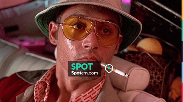 Le fume cigarette de Raoul Duke (Johnny Depp) dans Las Vegas
